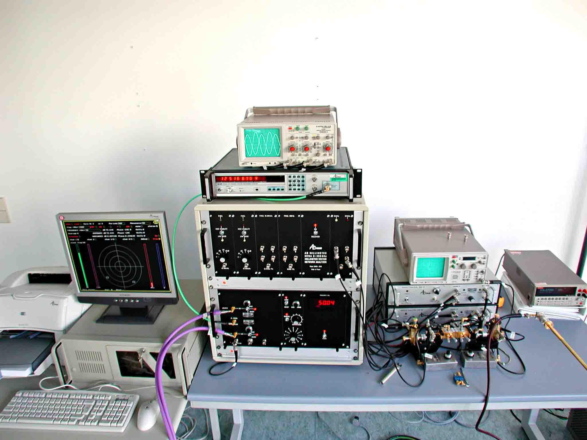 太赫兹矢量网络分析仪